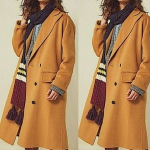 FREE PEOPLE- Adore You Wool Blend Sweater Coat